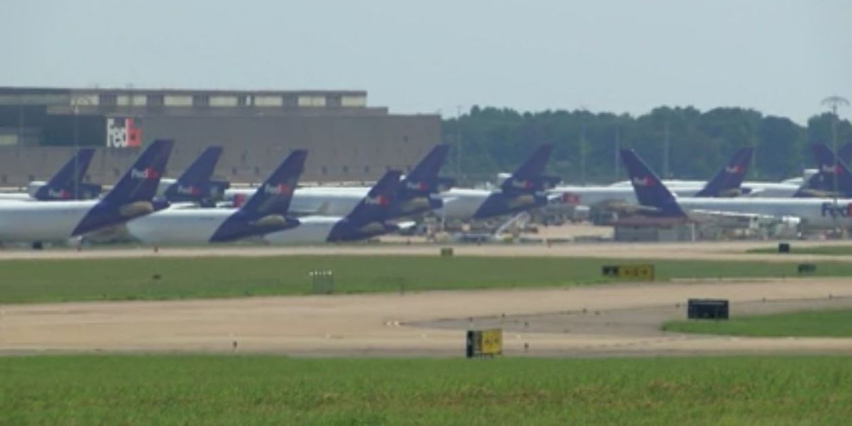 FedEx worker dies at the Memphis hub, company says