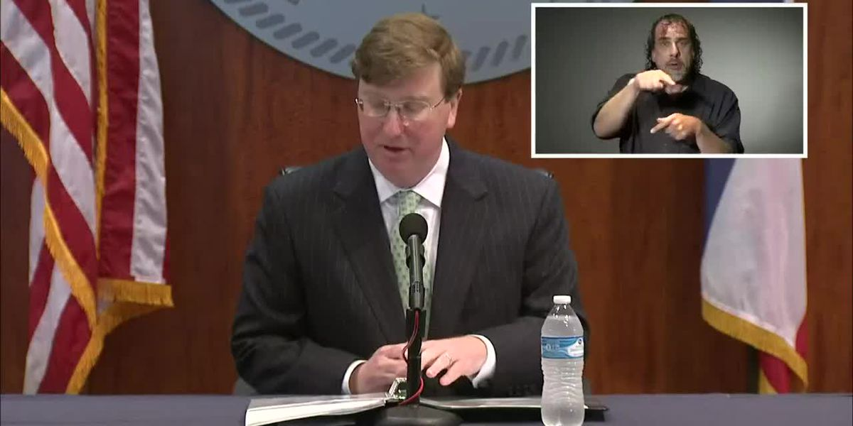 Gov. Tate Reeves gives COVID-19 update -- May 27