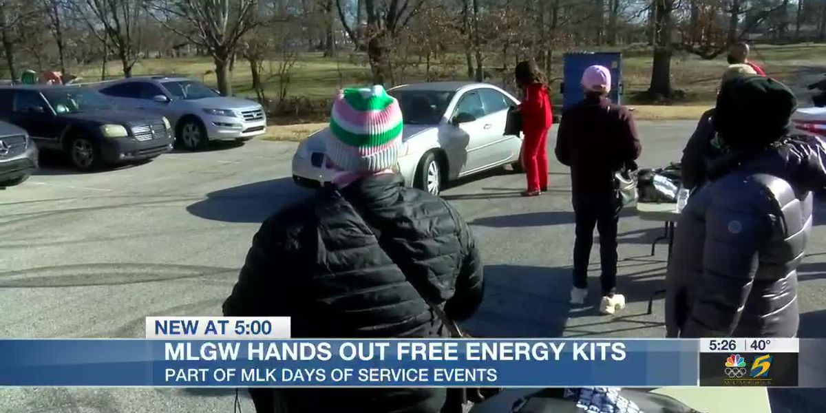 MLGW distributes energy kits in honor of MLK Day