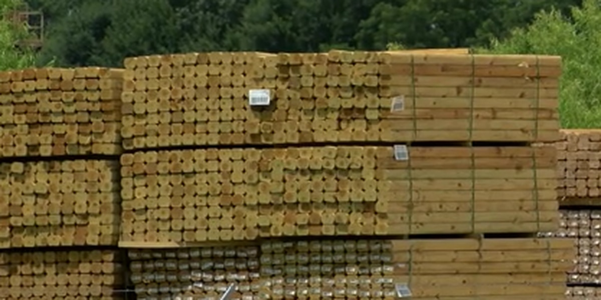 Rising lumber prices impacting the Mid-South