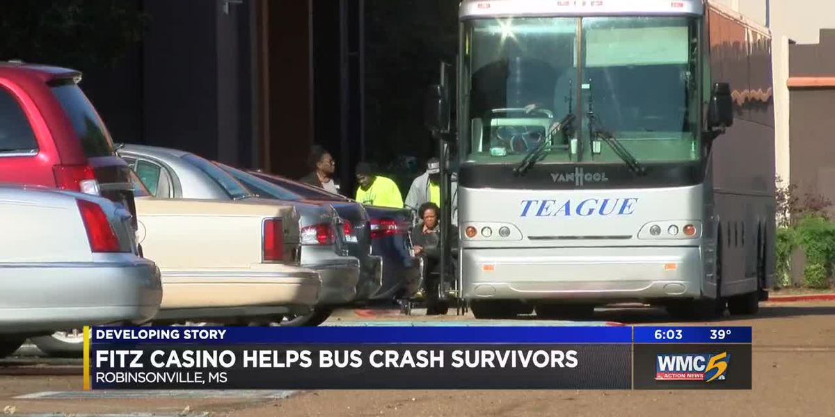 Fitz Casino helps bus crash survivors
