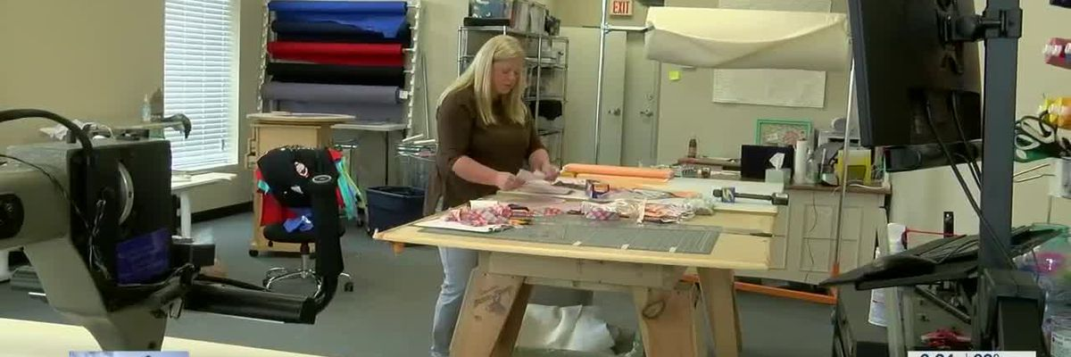 Mid-South volunteers stepping up to help make medical masks for healthcare workers