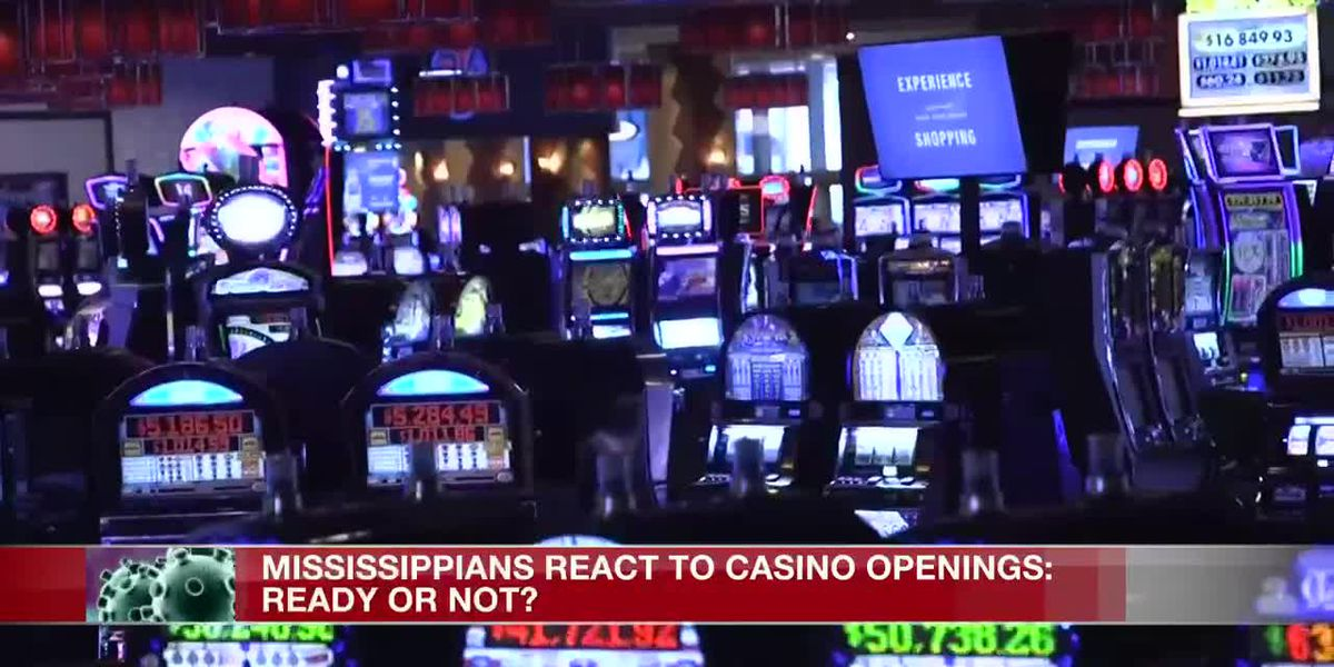 Ready or not: Miss. Casinos to reopen Thursday