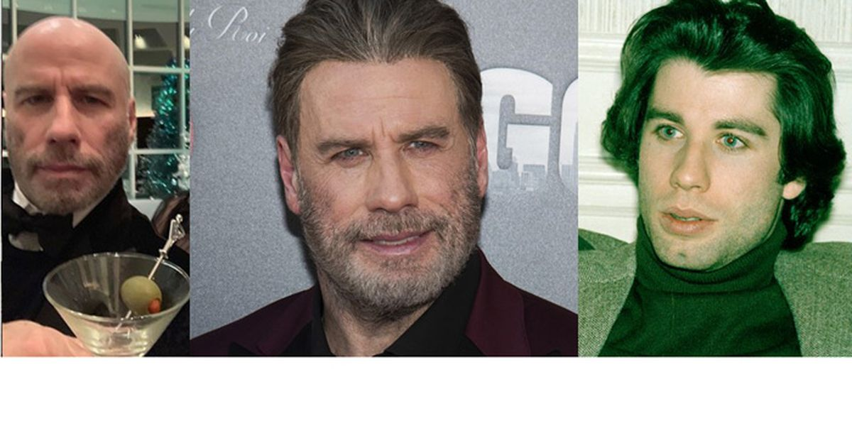 John Travolta shows off new look on Instagram