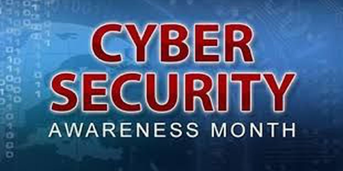 ANDY'S CONSUMER TIP OF THE DAY: cyber security awareness month