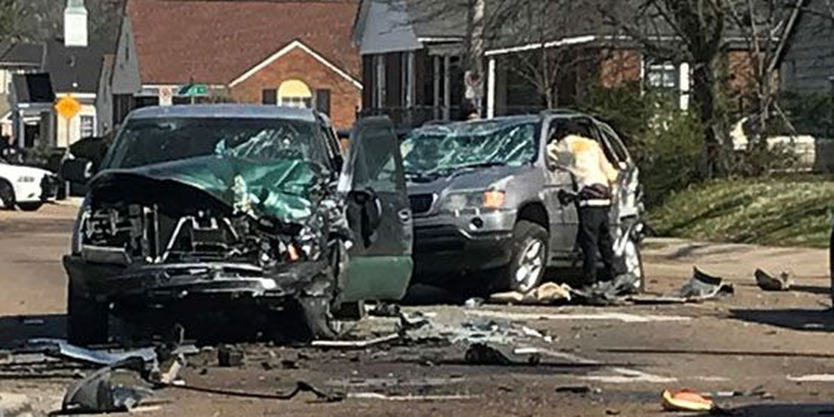 Police chase ends with car crash in Orange Mound