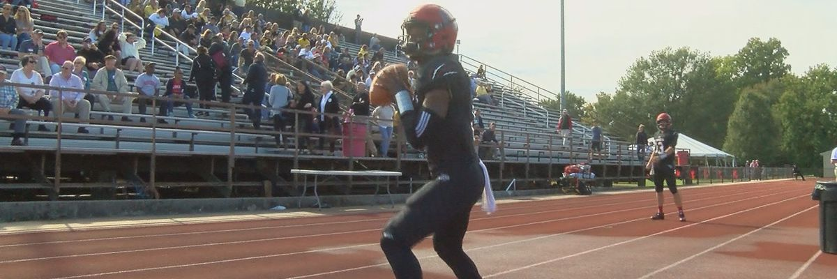 Rhodes QB Settles sets new school record for career yards