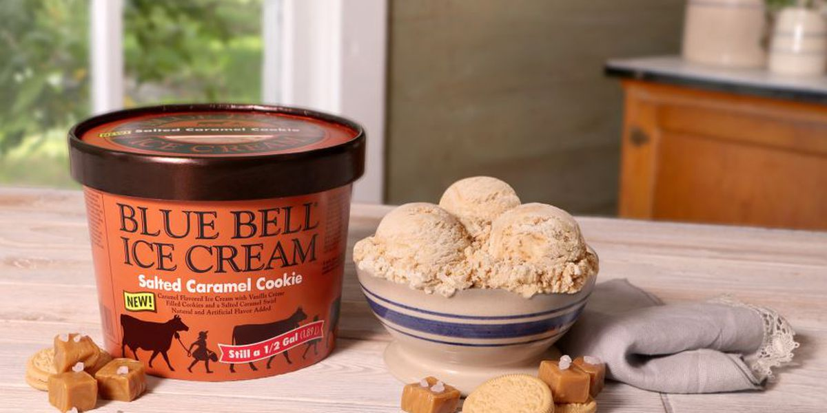 Blue Bell releases new Salted Caramel Cookie ice cream