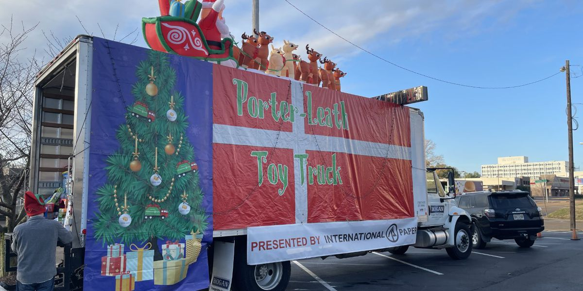 Drop off toys at WMC for the 19th annual Porter-Leath Toy Truck Drive