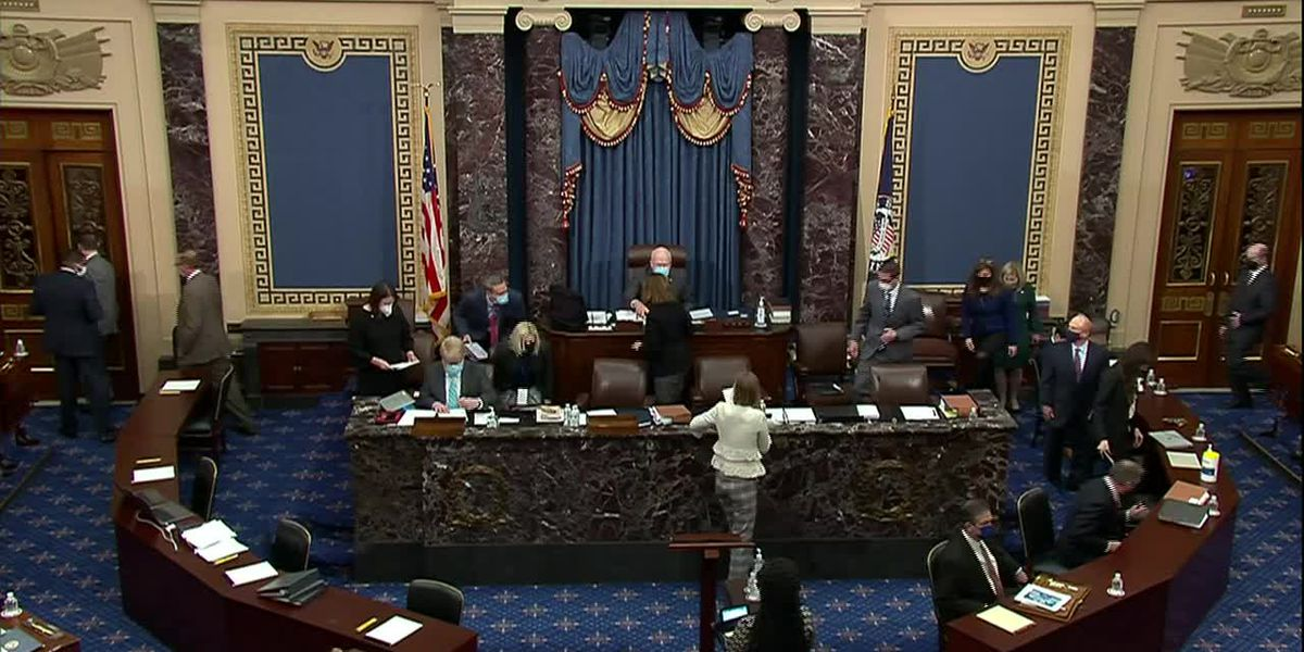 Mid-South senators vote against proceeding with Trump impeachment trial