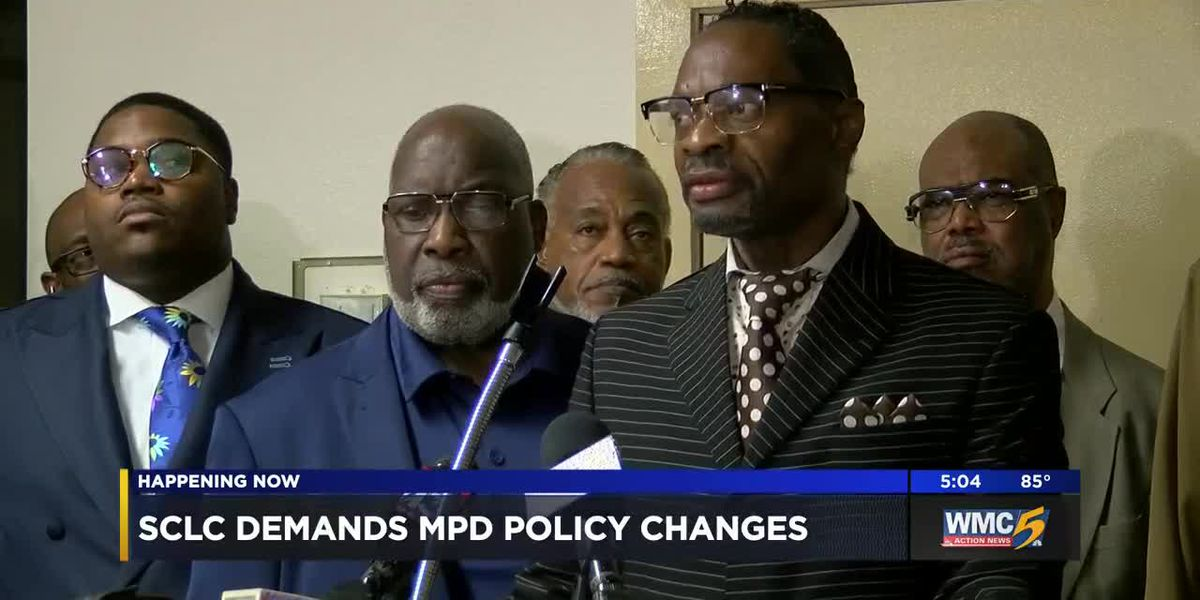 SCLC calls for policy change within MPD for officers who tamper with body cameras