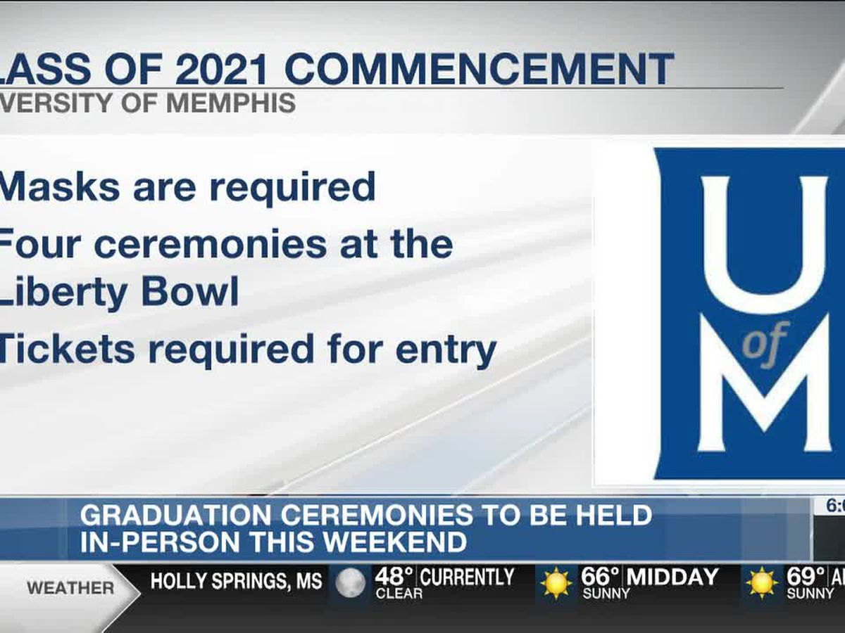 UofM holding in-person graduations this weekend with COVID-19 restrictions