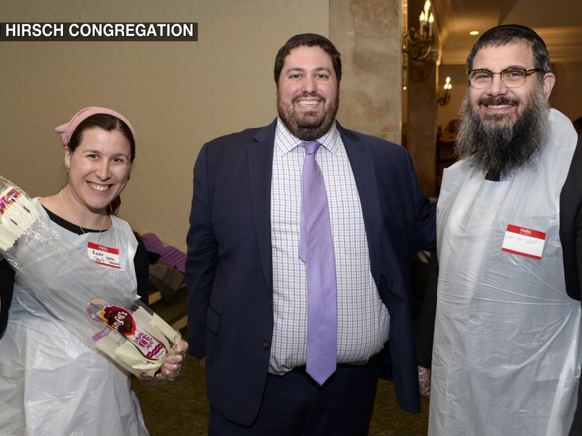 Local Jewish community stepping up to help feed those in need with the 'Great Big Sandwich Make'
