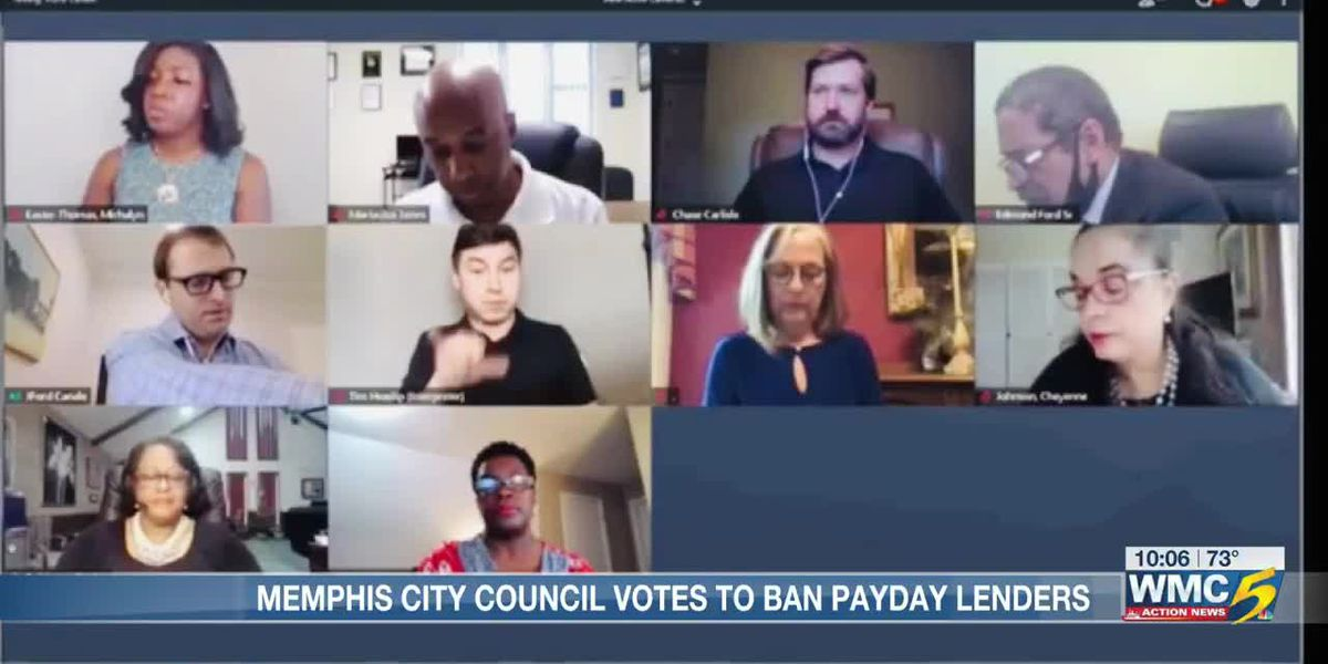 Memphis City Council urges state to ban all payday lenders