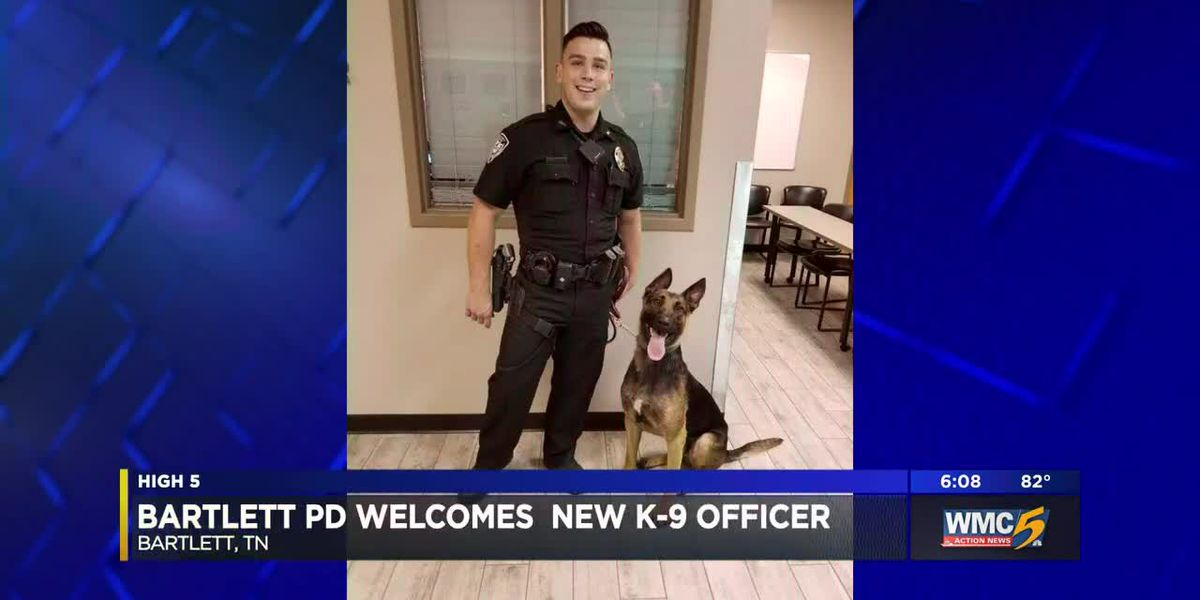 Bartlett PD welcomes new K-9 officer