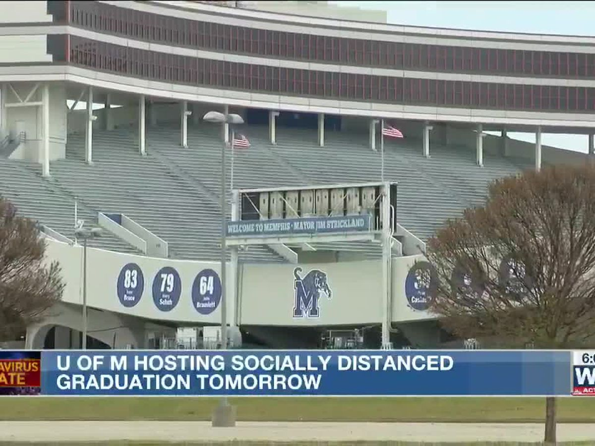The University of Memphis to host multiple outdoor commencement ceremonies Saturday