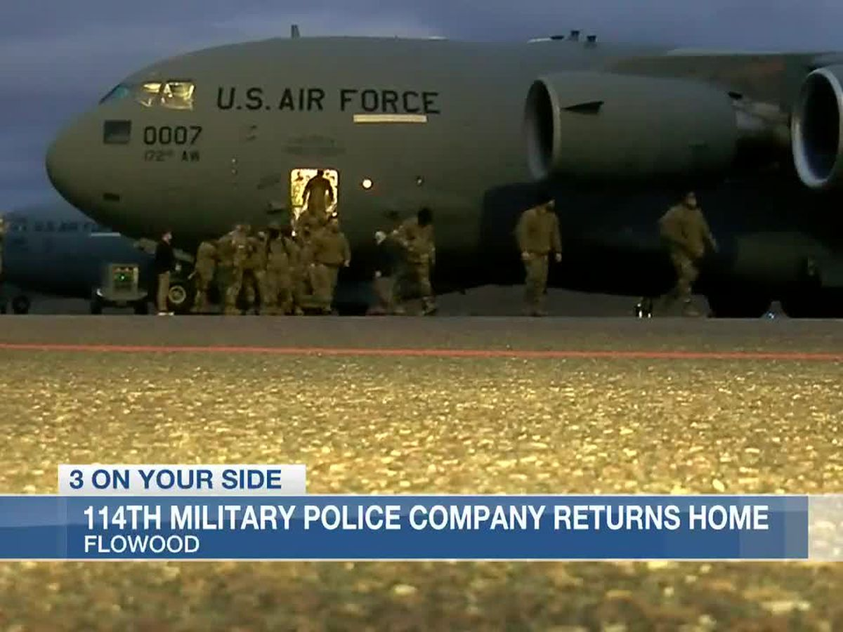 Mississippi National Guardsmen return home after successful mission in nation's capital