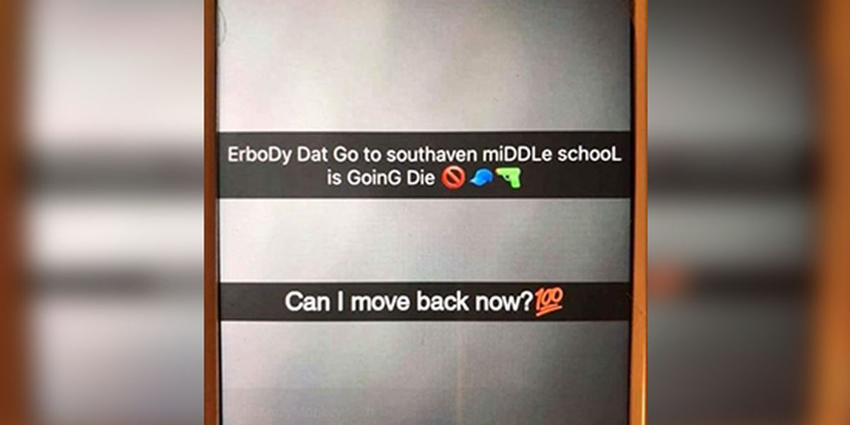 Student arrested after making threats at Southaven Middle School