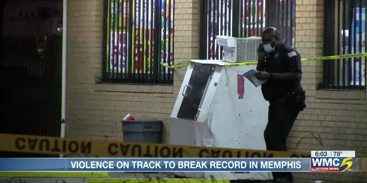 Memphis inching closer to homicide record