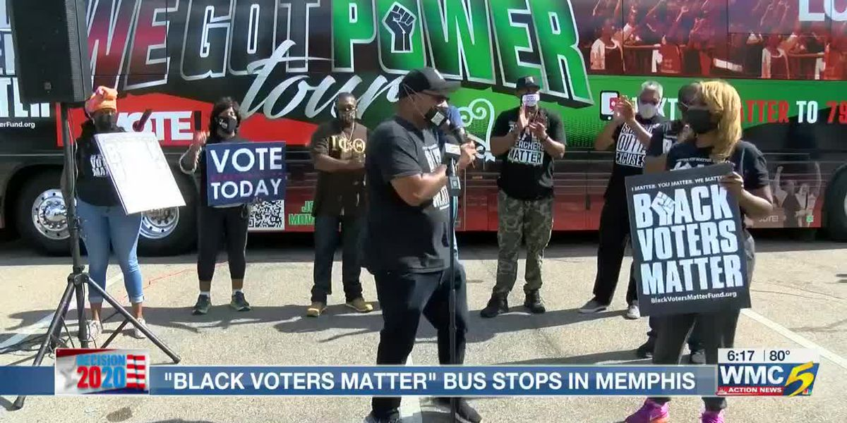 Party at the Polls: Black Voters Matter bus makes a pit stop in Memphis