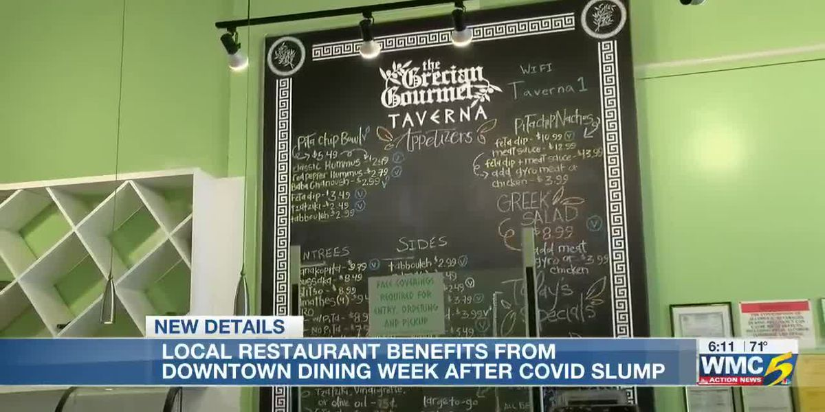Local restaurant benefits from Downtown Dining Week after COVID-19 slump