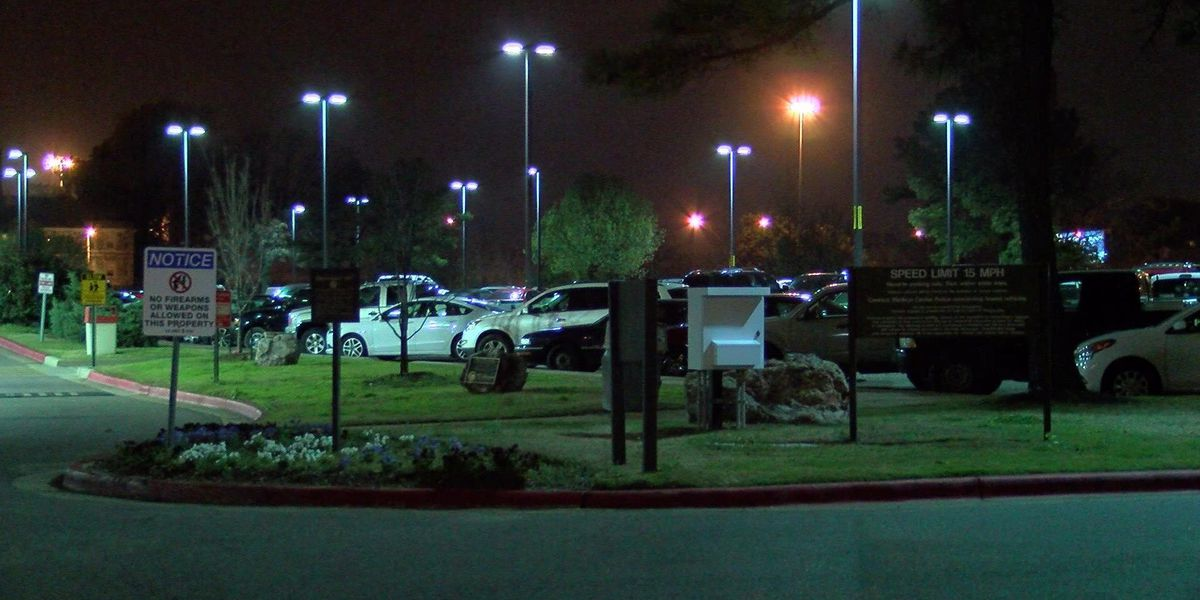 Man found dead in Veterans Affairs parking lot