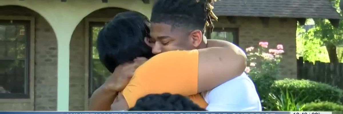 Former Whitehaven football player gets graduation surprise before heading to UT-Knoxville