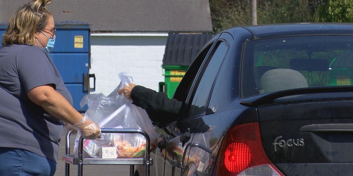 SCS kicks off weekly drive-thru meal distribution