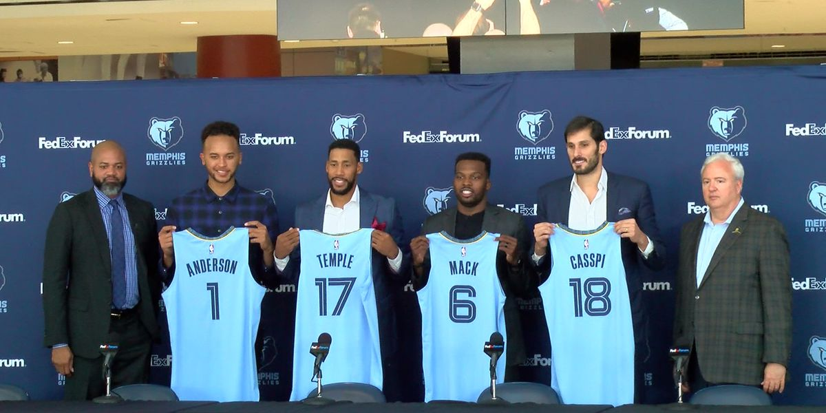 Grizz free agents ready for training camp