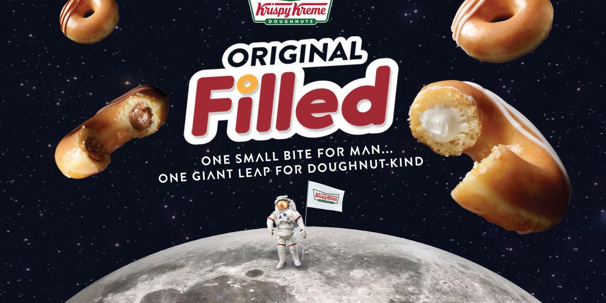 Krispy Kreme debuts new doughnut for 50th anniversary of Apollo 11 moon landing