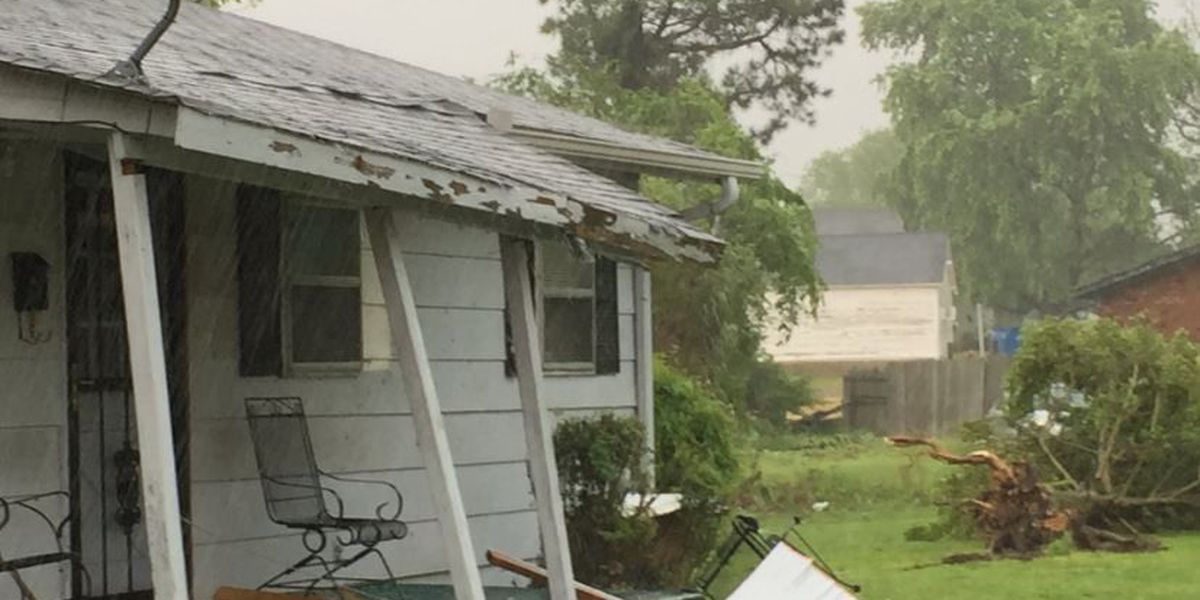 Two tornadoes confirmed in Sunday storms
