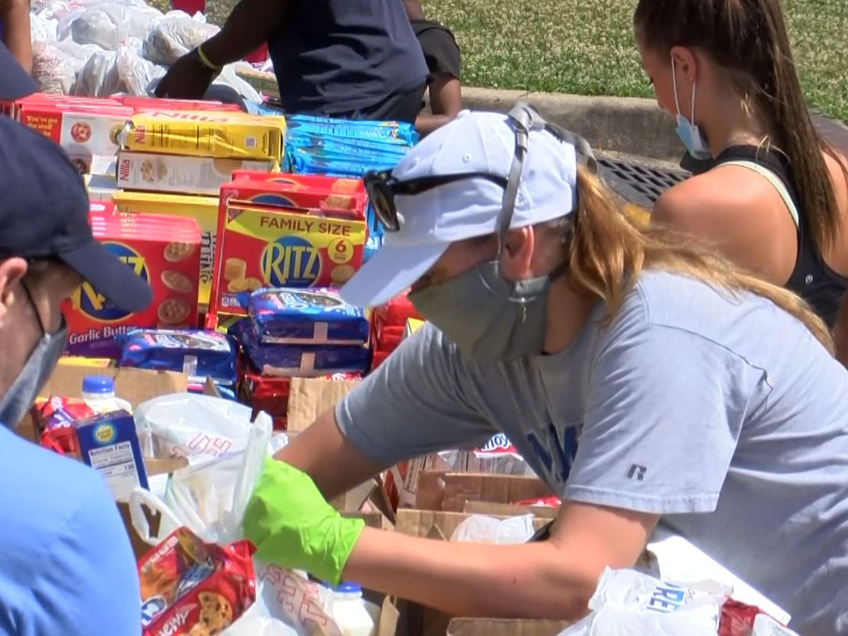 Carnival Memphis, RedZone Ministries partner with food bank for mobile food pantry