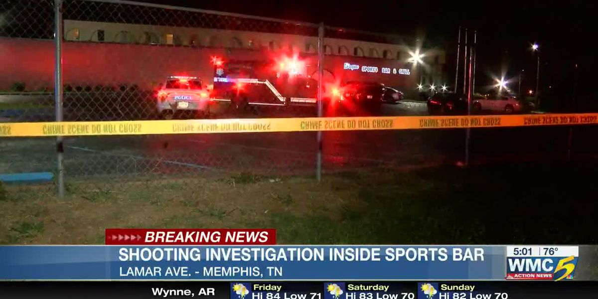 Person shot inside sports bar