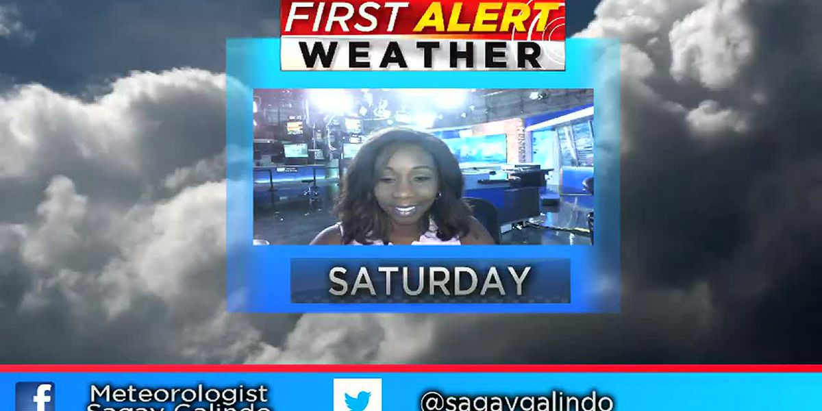 Saturday Evening Forecast
