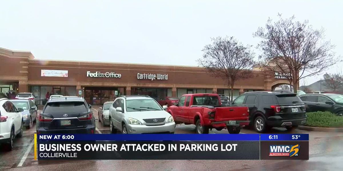 Business owner attacked in parking lot