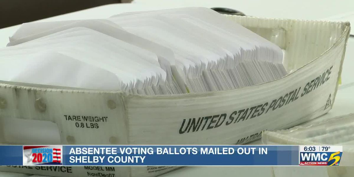 First absentee ballots hit the mail from Shelby County Election Commission ahead of Election Day