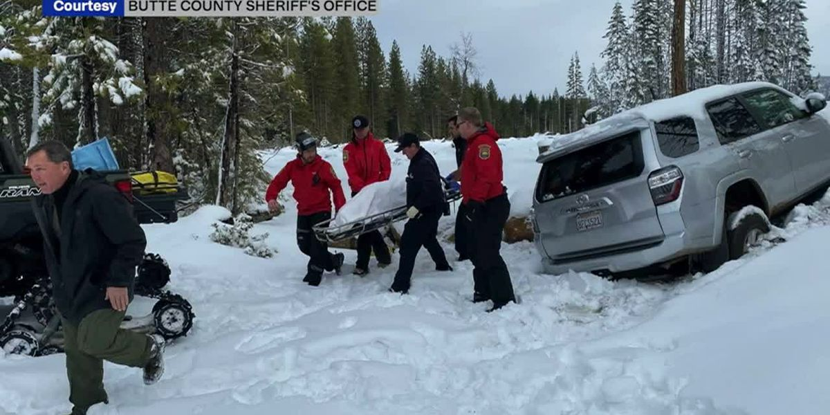California woman found alive after 6 days stuck in snow-covered vehicle