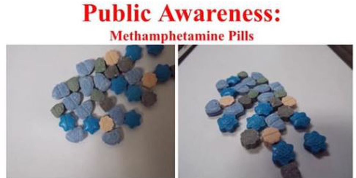 Police warn parents of colorful meth pills that look like candy