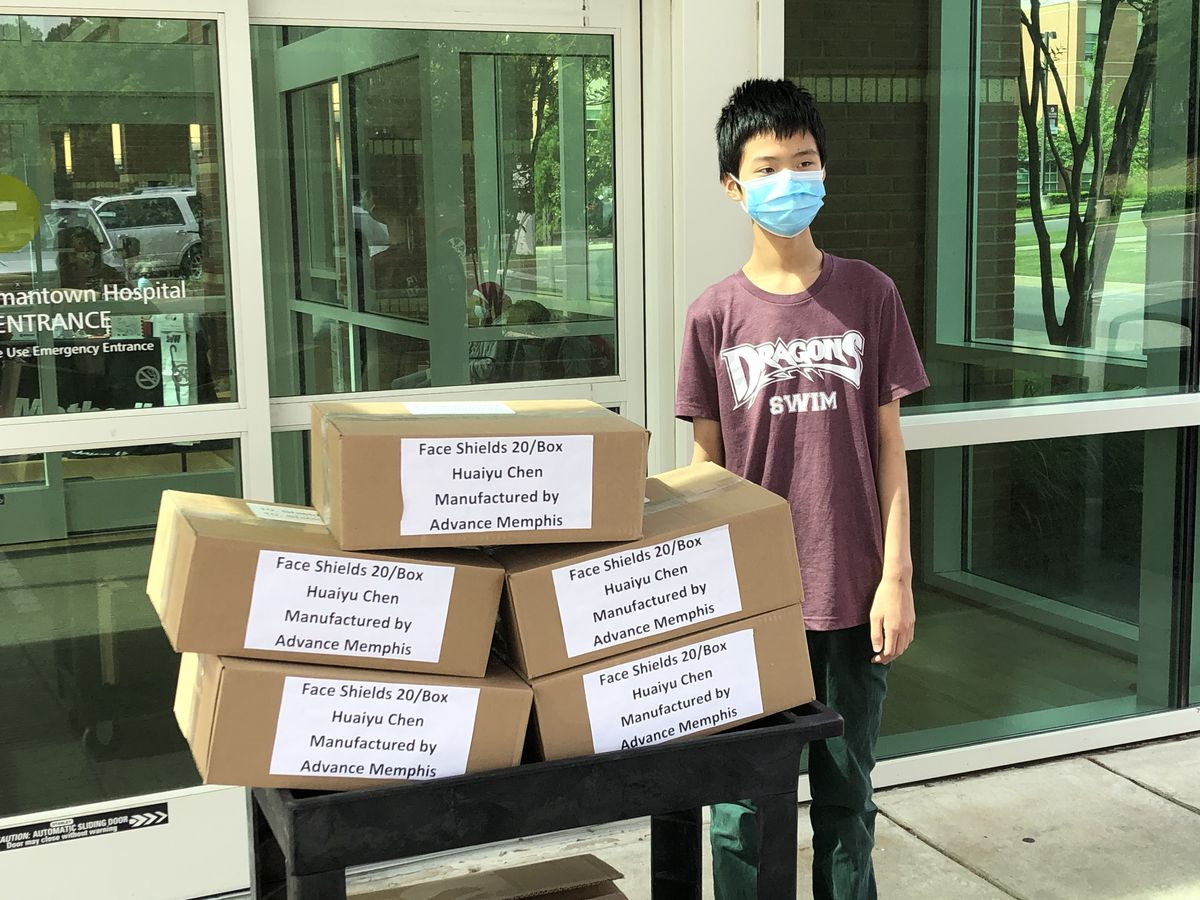 Collierville teenager steps up to donate personal protective equipment to healthcare workers
