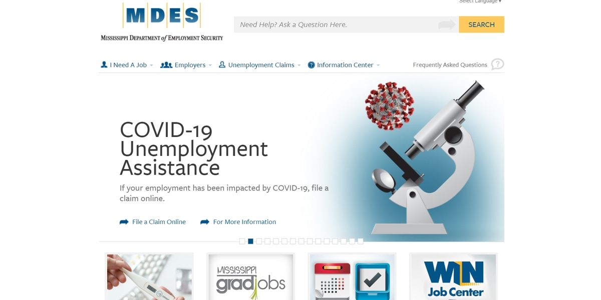 COVID-19 causes spike in Mississippi unemployment claims