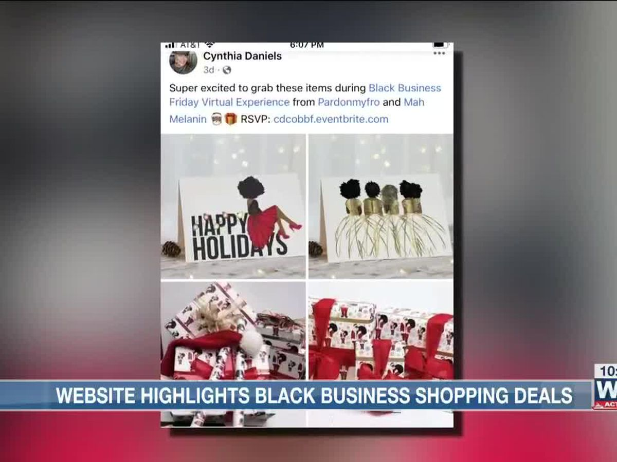 Event celebrates Black businesses on Black Friday