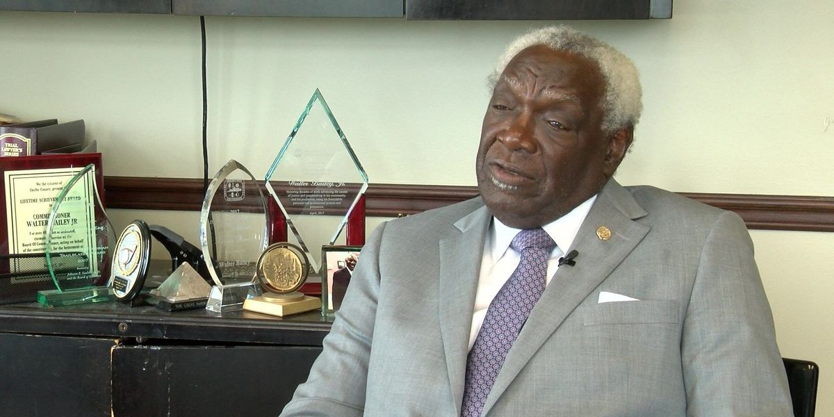 Walter Bailey reflects on over 4 decades as Shelby County Commissioner