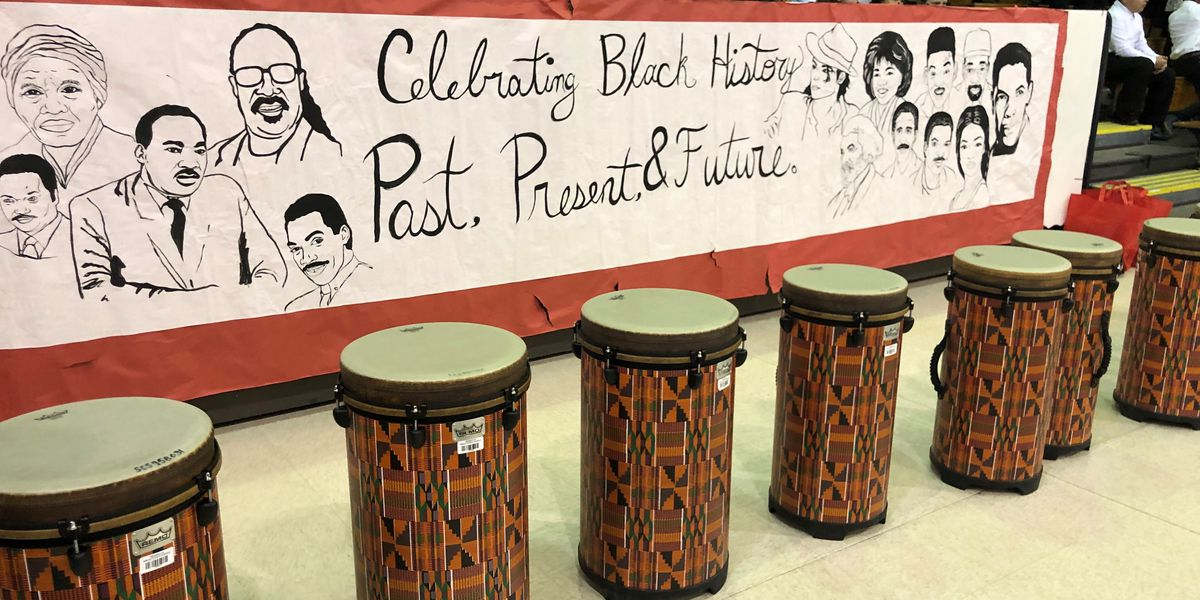 Macon Hall students celebrate Black History Month with musical performance