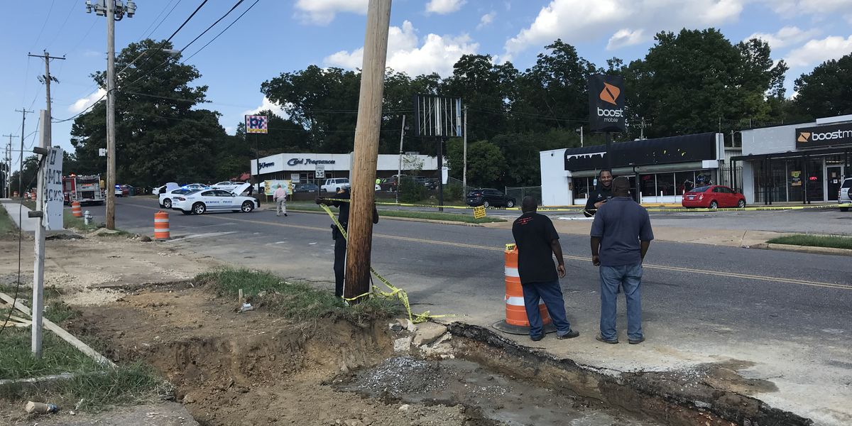 4 construction workers, officer injured in drive-by shooting