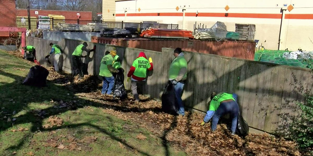 Blight patrol cleans up Bettis Cemetery
