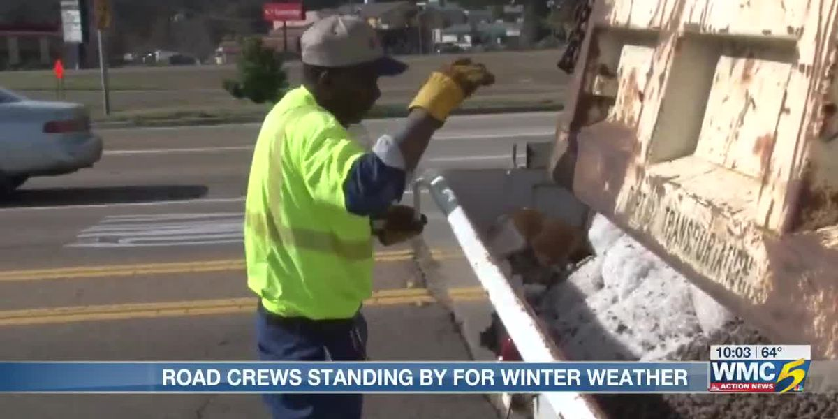 Mid-South preparing for potential winter weather Tuesday morning