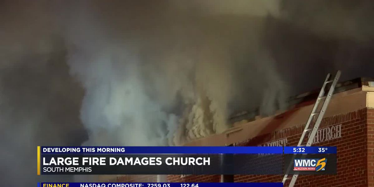 Fire breaks out at church during bible study