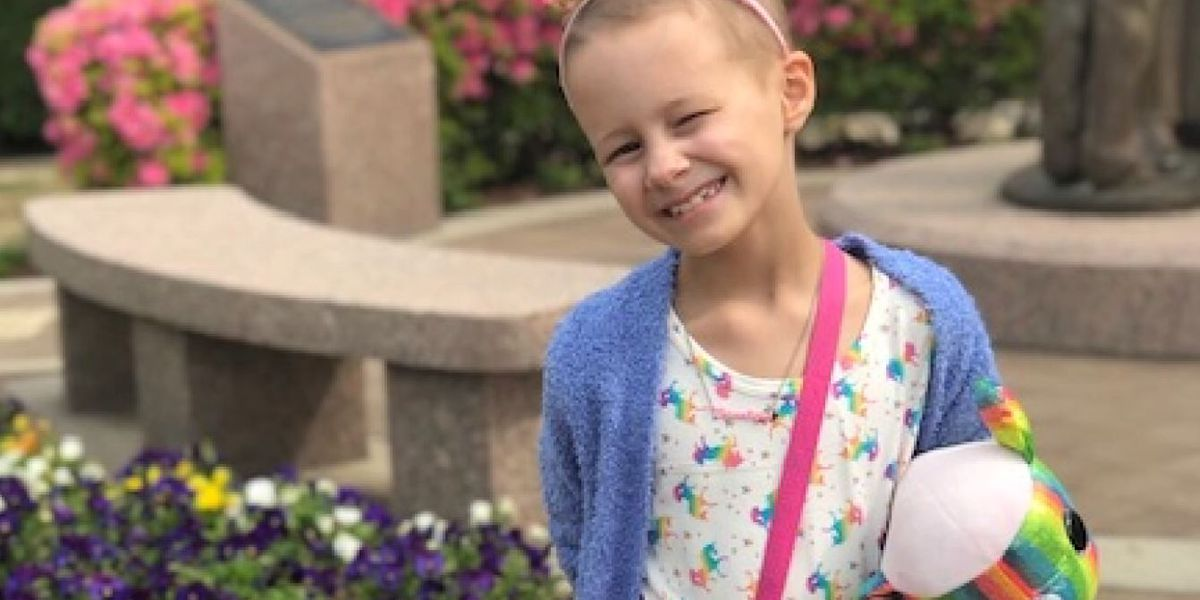 Charlotte's story: How St. Jude helped an 8-year-old survive her battle with cancer