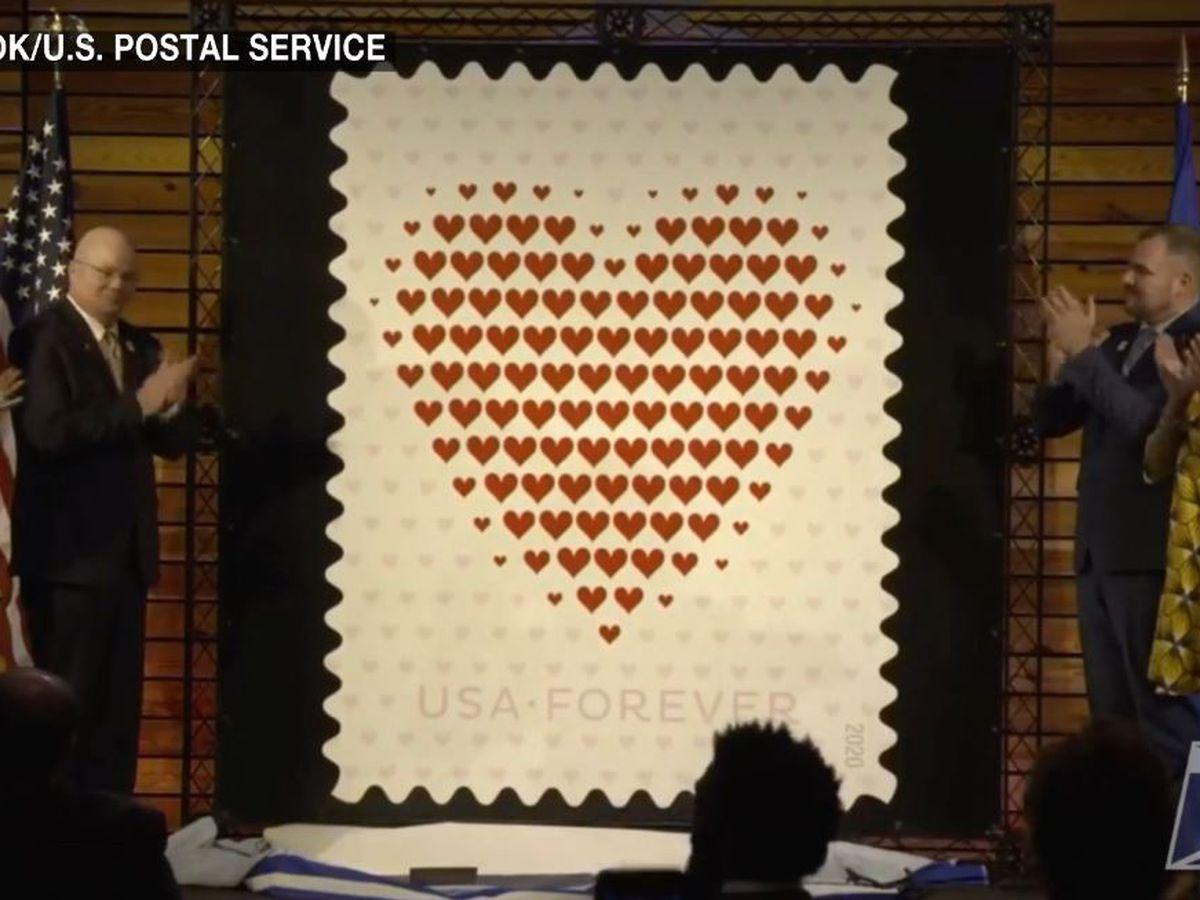 U.S. Postal Service reveals Forever Stamp at St. Jude Children's Hospital