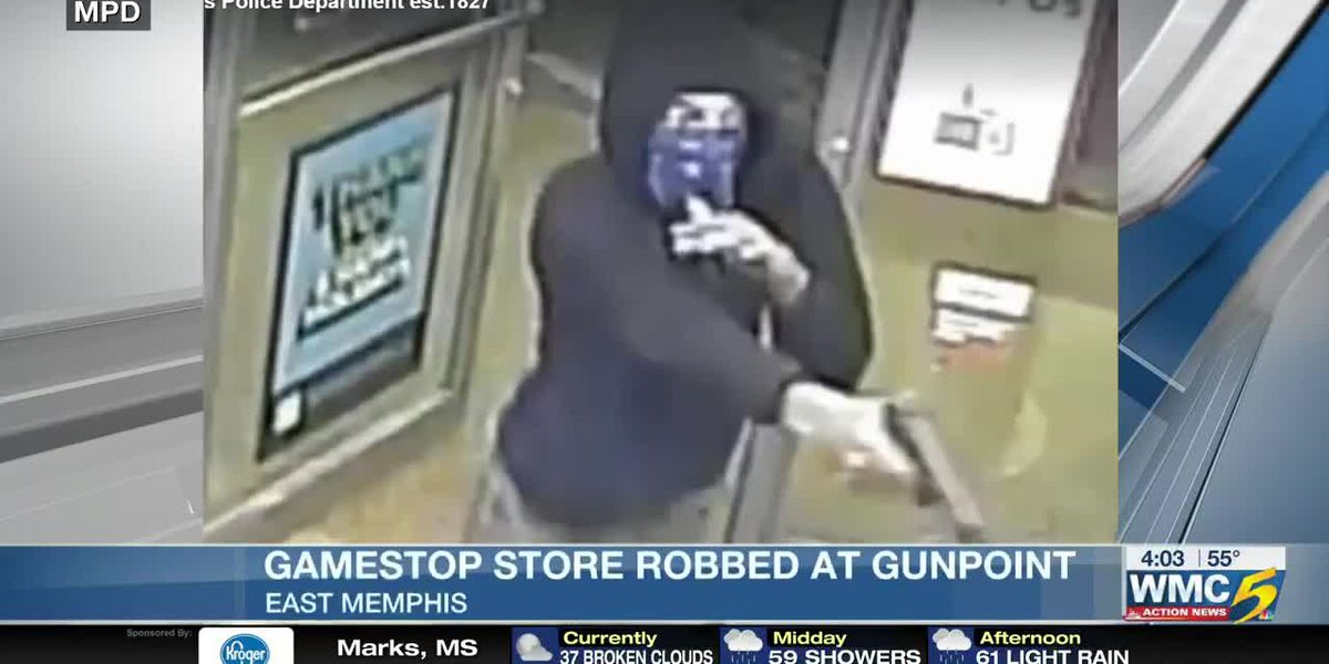 Suspect wanted in armed robbery of East Memphis GameStop